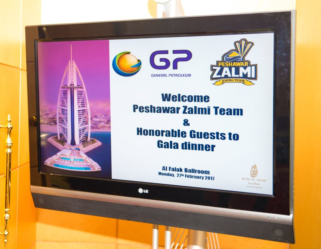 GP hosted dinner for PZ
